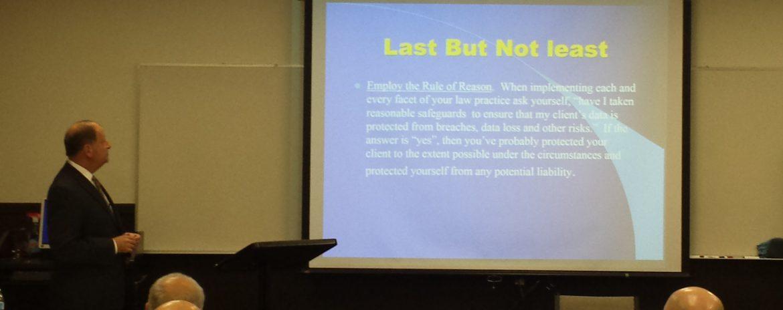 Joseph Foley Seminar
